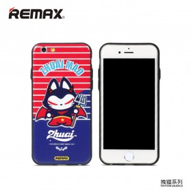 Remax Cat Cartoon Protective Hard Case for iPhone 6s Plus - Model 2