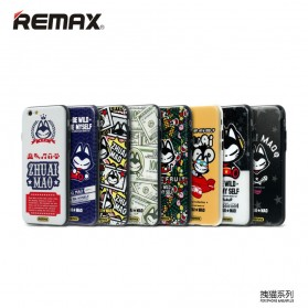 Remax Cat Cartoon Protective Hard Case for iPhone 6s Plus - Model 2 - 3