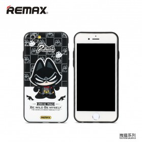 Remax Cat Cartoon Protective Hard Case for iPhone 6s Plus - Model 3