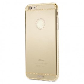Remax Sunshine Series TPU Case for iPhone 5/5s/SE - Golden