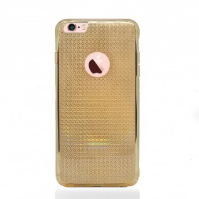 Remax Bright Series TPU Case for iPhone 6/6s Plus - Golden