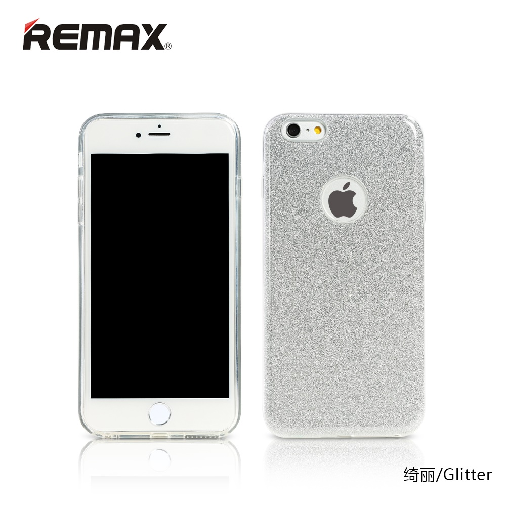 remax glitter series case for iphone 5 5s se silver. Black Bedroom Furniture Sets. Home Design Ideas