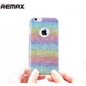 Remax Rainbow Glitter Series Case for iPhone 5/5s/SE - Multi-Color