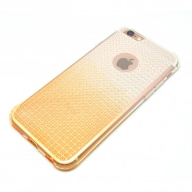 Remax Bright Series Dual Colour TPU Case for iPhone 6/6s Plus - Golden