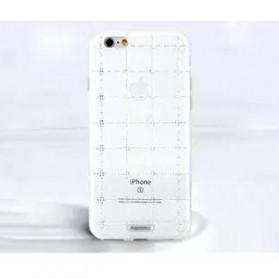 Remax Clear Series for iPhone 6 Plus - White - 6