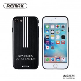 Remax Muke Series TPU Protective Soft Case for iPhone 7 - Black