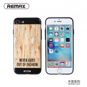 Remax Muke Series TPU Protective Soft Case for iPhone 7/8 - Wooden