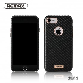 Remax Carbon Series Hard Case for iPhone 7/8 - Black