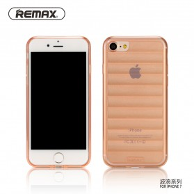 Remax Wave Series TPU Protective Soft Case for iPhone 7/8 - Rose Gold