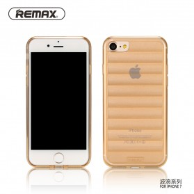 Remax Wave Series TPU Protective Soft Case for iPhone 7/8 - Golden