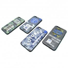 Remax Relief Creative TPU Case for iPhone 6/6s Plus - Black - 2