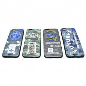 Remax Relief Creative TPU Case for iPhone 6/6s Plus - Black - 3