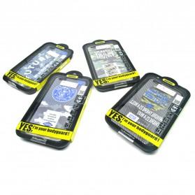 Remax Relief Creative TPU Case for iPhone 6/6s Plus - Black - 4