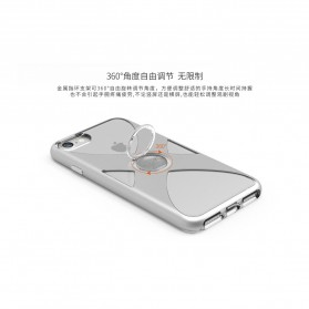 Remax X Series Hardcase for iPhone 7/8 - Silver - 3