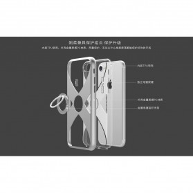 Remax X Series Hardcase for iPhone 7/8 - Silver - 7