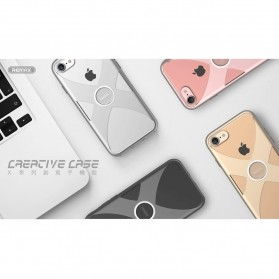 Remax X Series Hardcase for iPhone 7/8 - Silver - 9