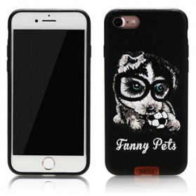 Remax Pet Series TPU Case for iPhone 7/8 - Black