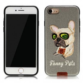 Remax Pet Series TPU Case for iPhone 7/8 - Gray