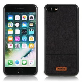 Remax Fabric Series Case for iPhone 7/8 Plus - Black