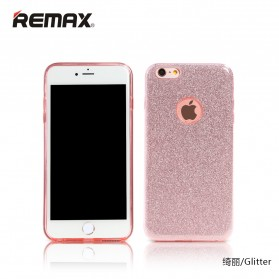 Remax Glitter Series Case for iPhone X - Rose Gold