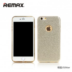 Remax Glitter Series Case for iPhone X - Golden