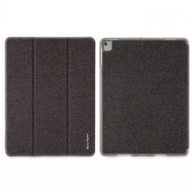 Remax Leather Case + Pencil Stylus Holder for iPad 9.7 Inch - PT-10 - Black
