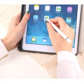 Remax Leather Case + Pencil Stylus Holder for iPad 9.7 Inch - PT-10 - Black - 7