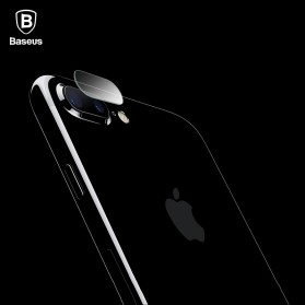 Baseus Camera Lens Glass Protector for iPhone 7 Plus - Transparent
