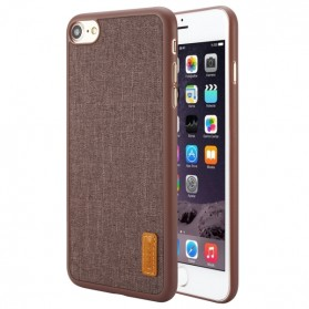 Baseus Sunie Series Grain Case for iPhone 7/8 - Brown