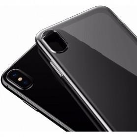 Baseus Simple Slim Series TPU Case for iPhone X - Black - 3