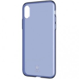 Baseus Simple Slim Series TPU Case for iPhone X - Blue