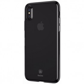 Baseus Simple Slim Series TPU Case for iPhone X - Blue - 2