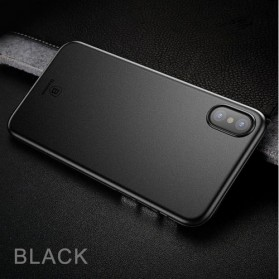 Baseus Wing Series Hardcase for iPhone X - Black