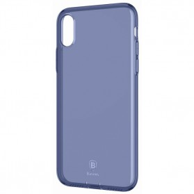 Baseus Pluggy Slim Series TPU Case for iPhone X - Blue