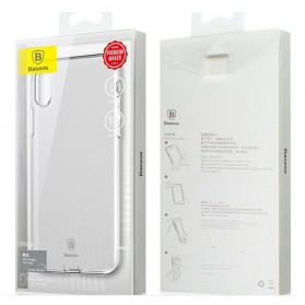 Baseus Pluggy Slim Series TPU Case for iPhone X - Blue - 5