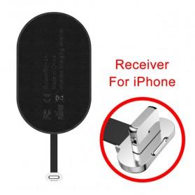 Baseus Qi Wireless Charging Receiver Lightning - WXTE-A01 - Black