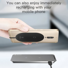Baseus Qi Wireless Charging Receiver USB Type C - WXTE-B01 - Black - 3