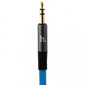 Hoco UPA01 Dual Color AUX Cable 3.5mm 1.6 Meter - Blue - 7