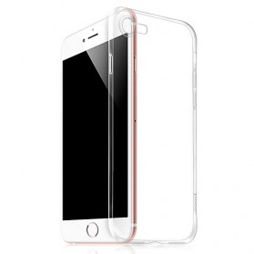 Hoco Light Series TPU Case & Tempered Glass for iPhone 7/8 - Transparent - 2