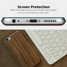 Rock Origin Series Grained Case for iPhone 6/6s - Wooden - 5