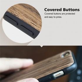 Rock Origin Series Grained Case for iPhone 6/6s - Wooden - 6