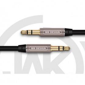 WK Melody Kabel AUX 3.5mm - WDC-019 - Black - 2