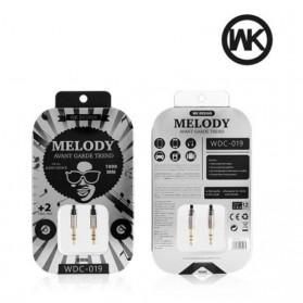 WK Melody Kabel AUX 3.5mm - WDC-019 - Black - 3