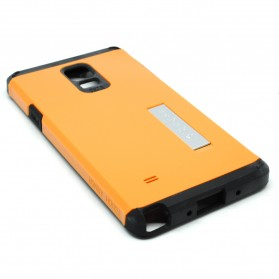 SGP Tough Armor Plastic + TPU Combination Case with Kickstand for Galaxy Note 4 (OEM) - Orange