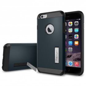 SGP Tough Armor Plastic + TPU Combination Case with Kickstand for iPhone 6 Plus (OEM) - Dark Blue