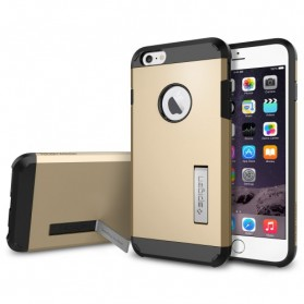 SGP Tough Armor Plastic + TPU Combination Case with Kickstand for iPhone 6 (OEM) - Golden