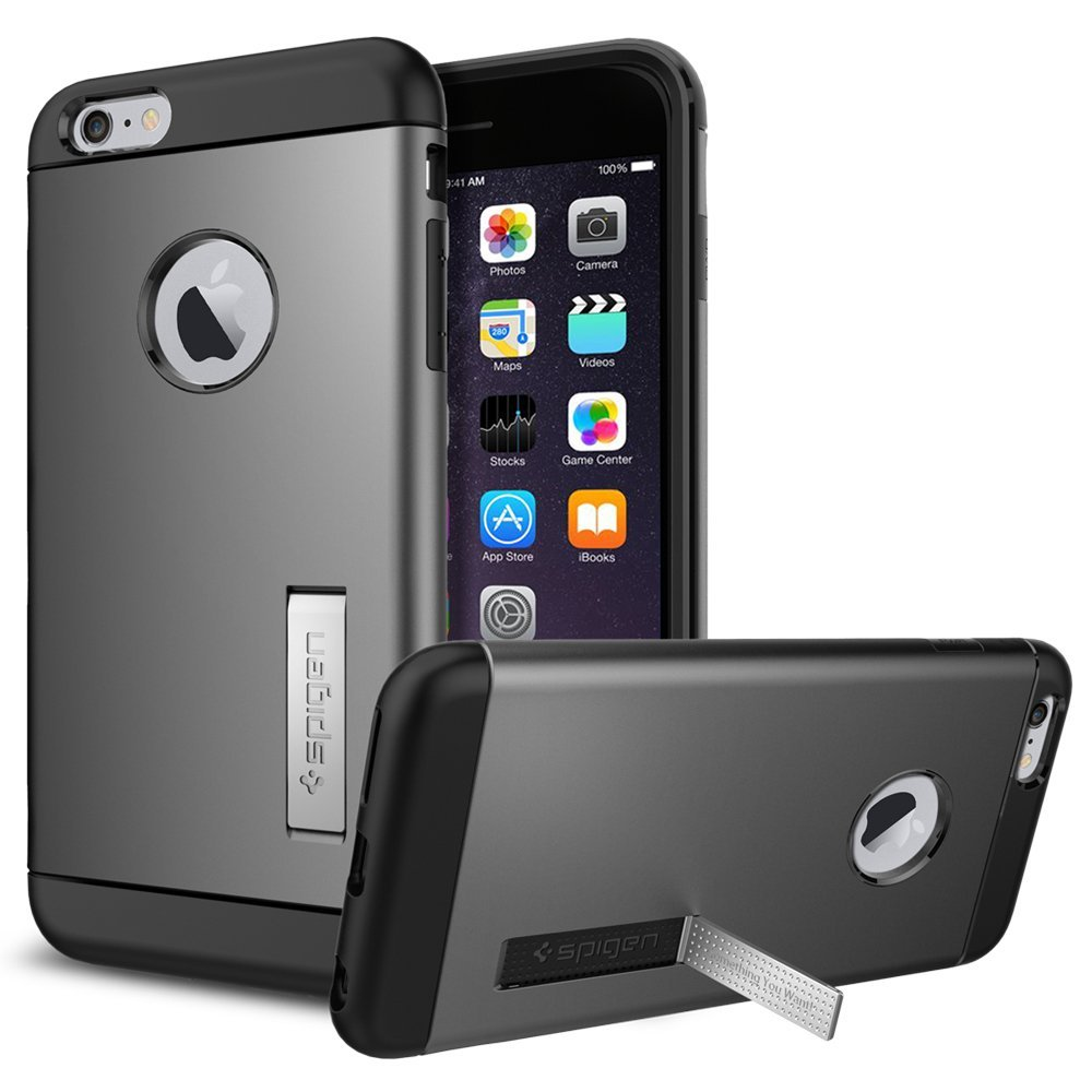 SGP Slim Armor Plastic + TPU Combination Case with Kickstand for ...