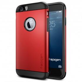 SGP Slim Armor Plastic + TPU Combination Case for iPhone 6 (OEM) - Red