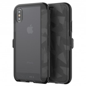 Tech21 Evo Wallet Case for iPhone X - Black