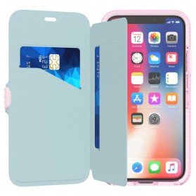 Tech21 Evo Wallet Case for iPhone X - Rose - 3